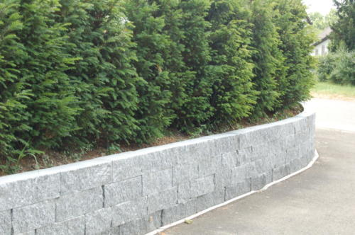 "Mauer aus Tessinergneis hell ""Lego Vita"" 20x20x25-100 cm"